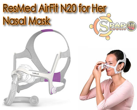 ResMed AirFit N20 for Her Nasal Mask
