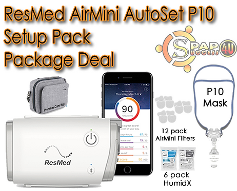 ResMed AirMini AutoSet P10 Setup Pack Package Deal