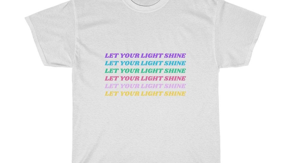 Let Your Light Shine Men's T-Shirt