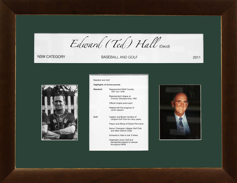 Edward 'Ted' Hall