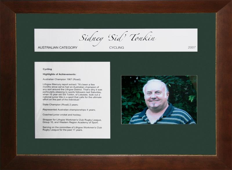 Sidney 'Sid' Tonkin