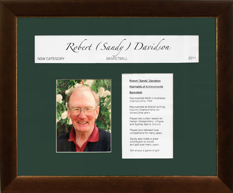 Robert 'Sandy' Davidson
