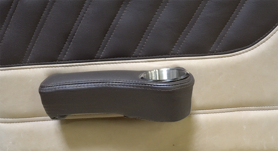 Cessna Leather Interior