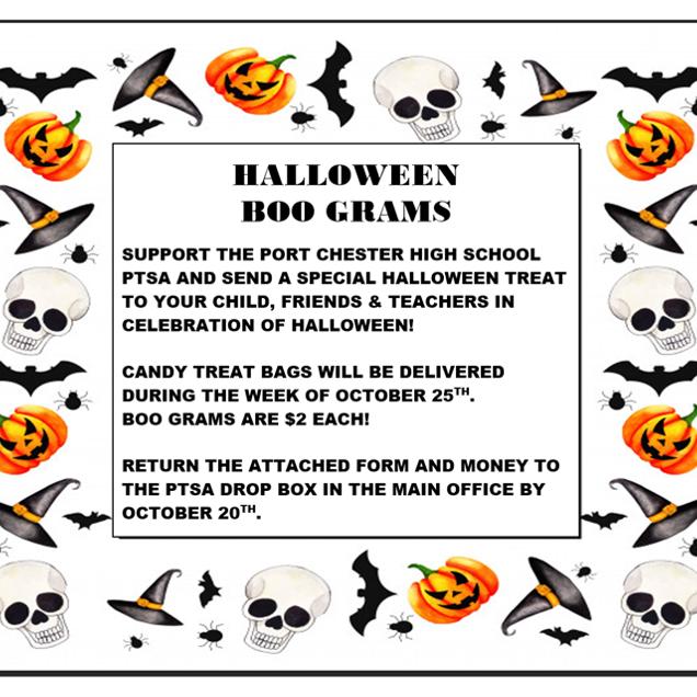 Halloween Boo Grams - $2.00 each