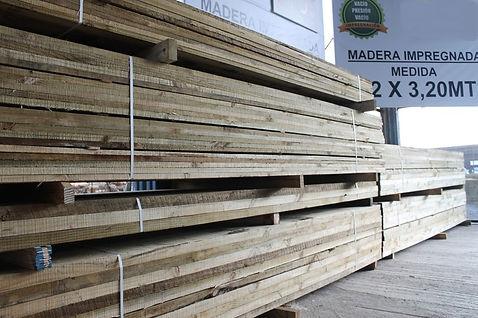 madera impregnada