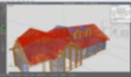 Modelación Estructural 3D CAD/CAM Casa Rucantu