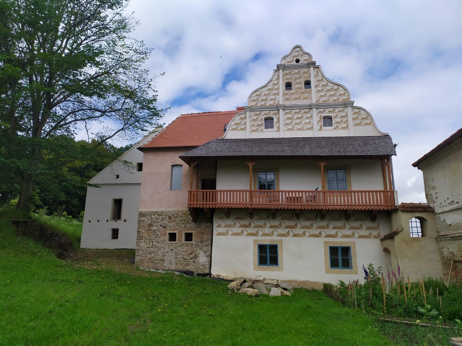 Maison forte datant du XVe siècle