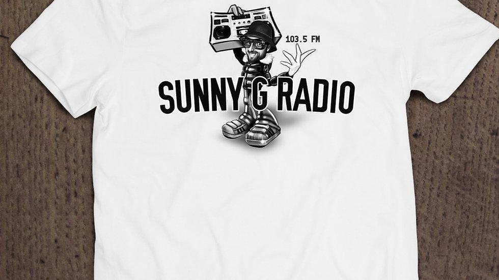 Sunny G Radio boom box tee shirt