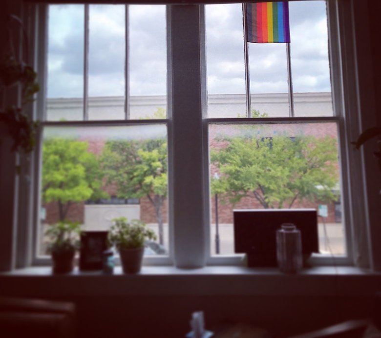 Dr. Marshall Bewley Provides Affirming Therapy for LGBTQ+ clients locted in the Denton and surrounding DFW area.