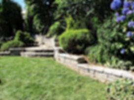 Garden landscape design fresh lawn concr