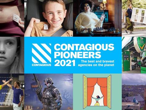 Sancho BBDO, única agencia latinoamericana en el ranking Contagious Pioneers 2021