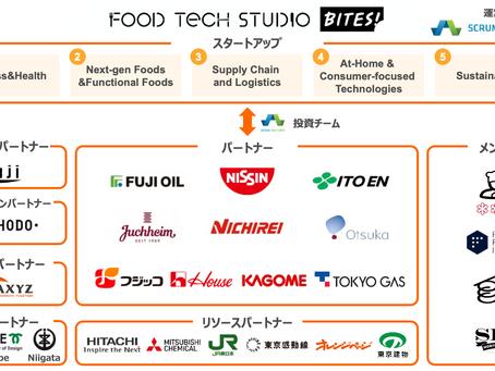 """[Press Release]Food Tech Studio – Bites!に世界18ヵ国85社のスタートアップを採択~三菱ケミカル、加賀市、神戸市、新潟市も新""""食""""産業を創出する新パートナーに~"""