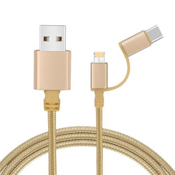 2 IN 1 FAST CHARGING DATA CABLE