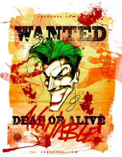 jokers wanted poster shirt UPDATE 2