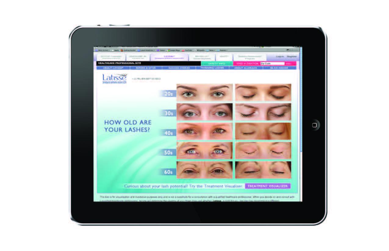 Ageless Eye Simulator