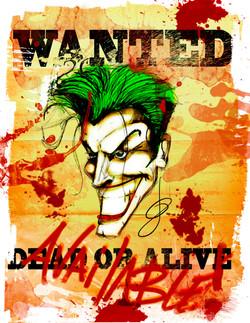 jokers wanted poster shirt SDCC 2016