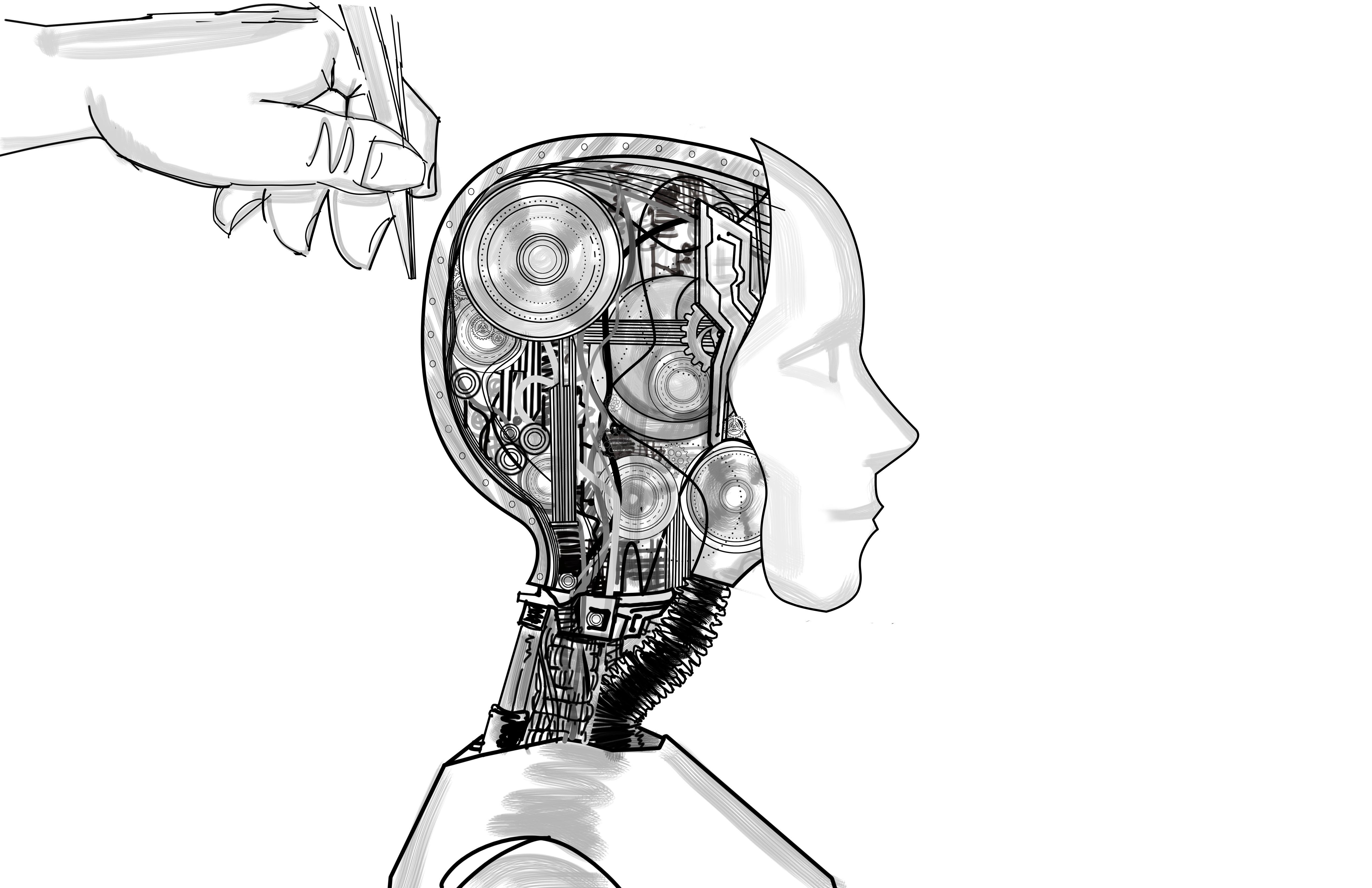 Robot head 2