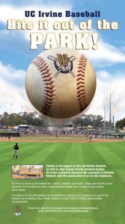 UCI Baseball DailyPilot  Ad
