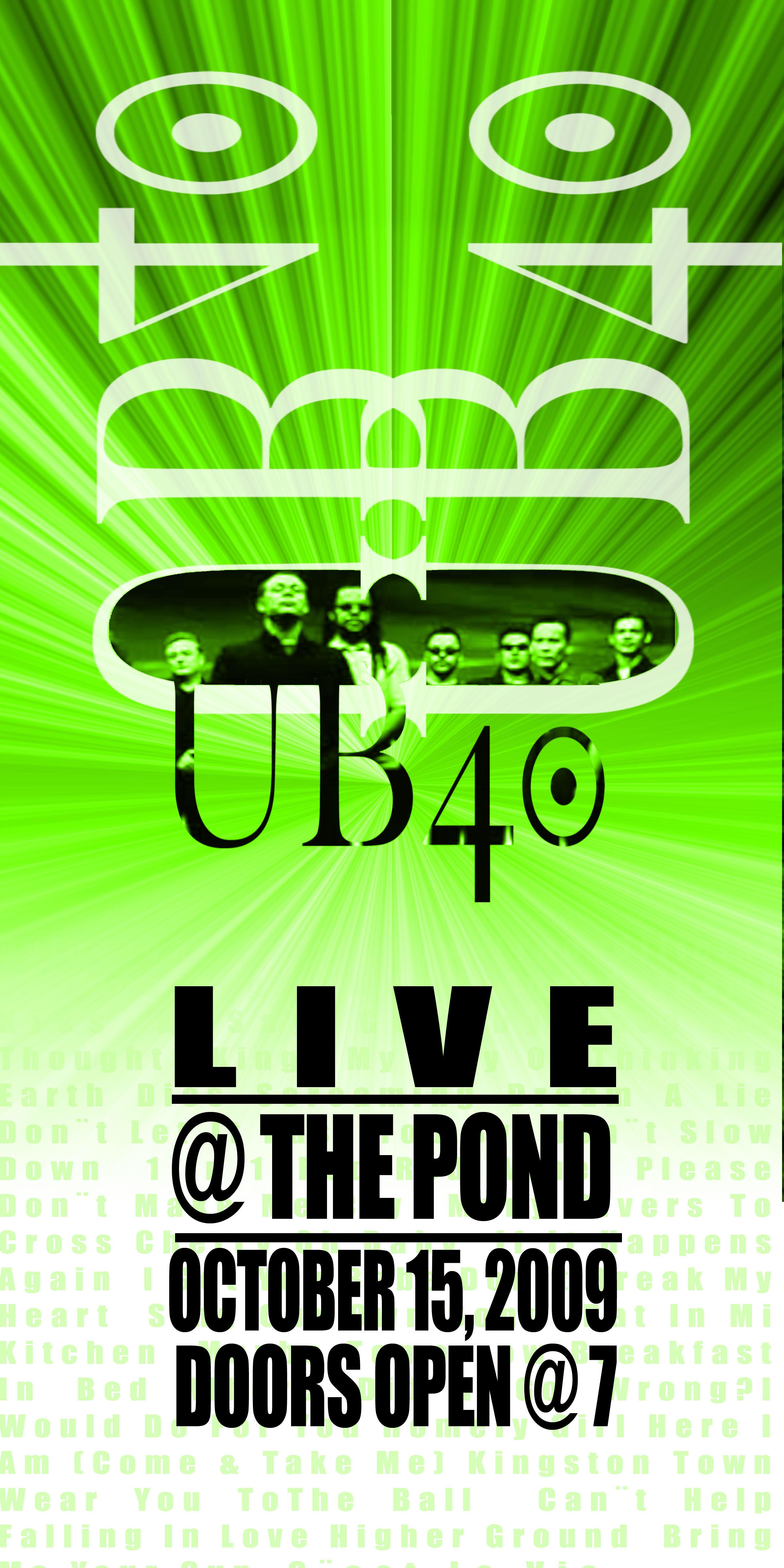 UB40 Banner