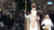 St. Nicholas and his Krampus in Berchtesgaden