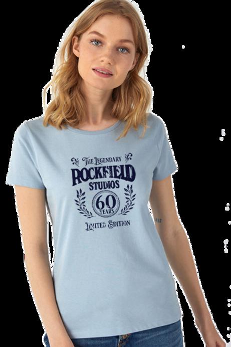 Ladies Organic 60th Anniversary Teeshirt