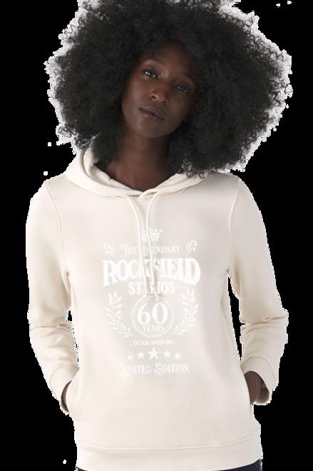 LADIES' Rockfield Organic 60th Anniversary Hoodie