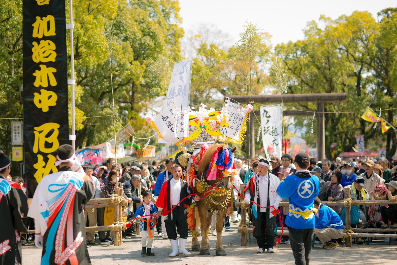 鹿児島神宮初午祭