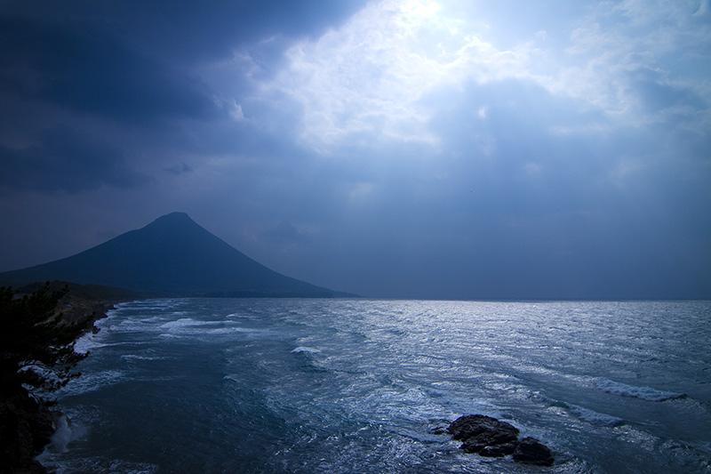 瀬平からの開聞岳