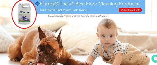 Flurrex Website homepage