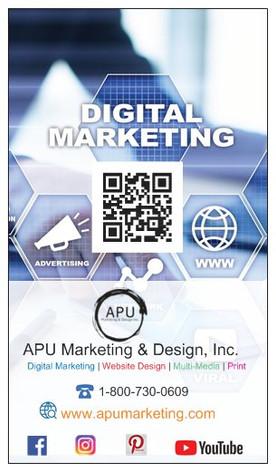 APU business card