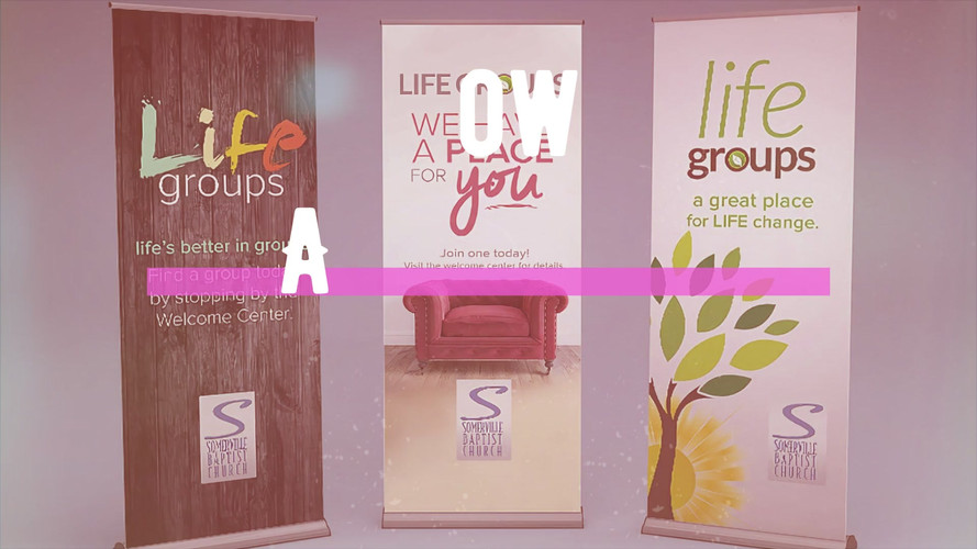 Custom Retractable Signs product video