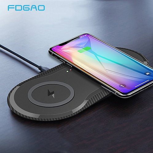 Dual sided 20W Charger  for iPhones 11,  XS, XR,X,8  Samsung S10,S20, AirPodsPro