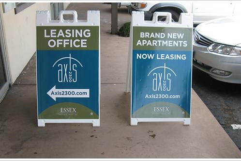 A-frame (2) Posters & Stand | APU Marketing & Design, Inc
