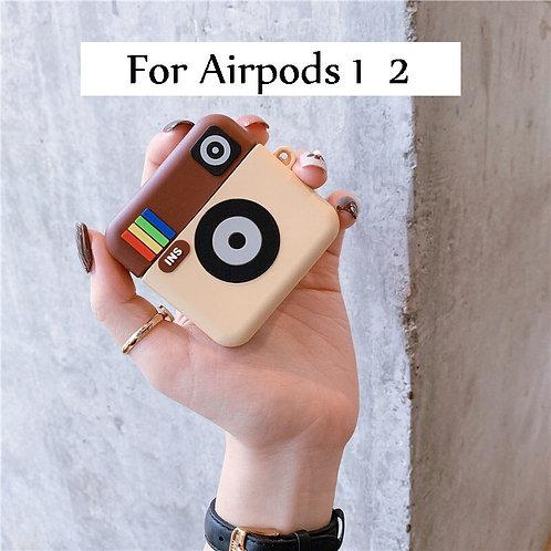 Camera Air Pod Case