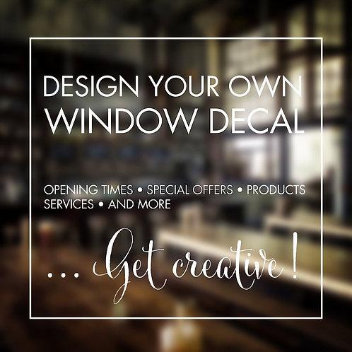 Window Decals