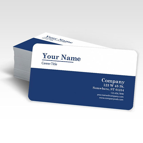 Round Corner Business Cards [ 100ct ]