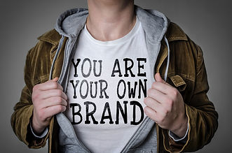 Man showing You Are Your Own Brand tittl