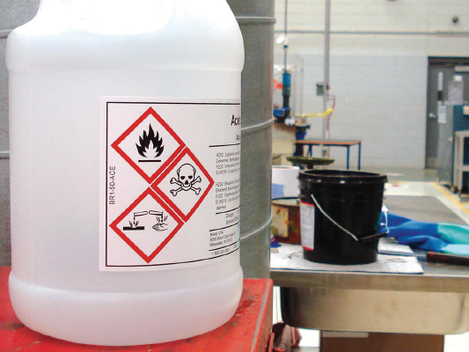 Nueva Reglamentación Etiquetado de Productos Químicos