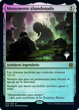 Forsaken Monument (ZNR) / Español Foil Promo Pack