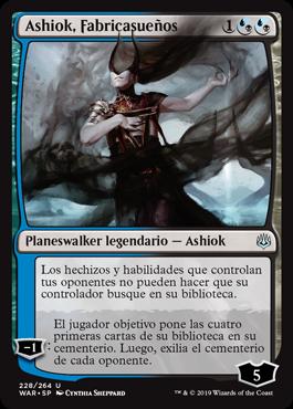 Ashiok, Dream Render / Español