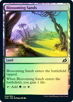Blossoming Sands (IKO) / Foil