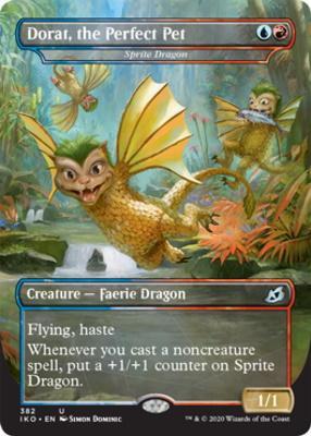 Sprite Dragon // Dorat, the Perfect Pet / Non-Foil