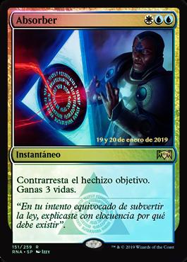 Absorb / Prerelease Foil Español