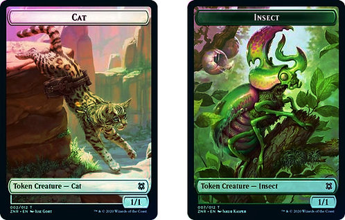 Token (Cat / Insect) Foil