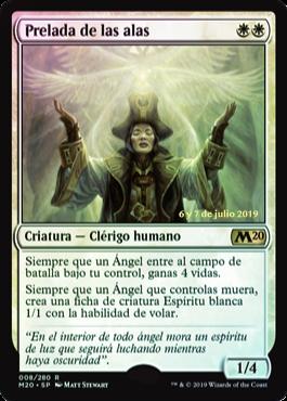 Bishop of Wings / Prerelease Foil Español