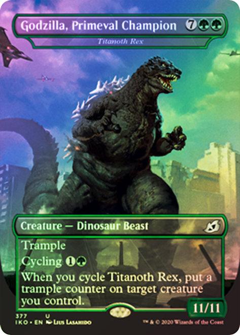 Titanoth Rex // Godzilla, Primeval Champion / Foil