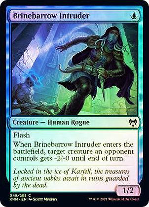 Brinebarrow Intruder (KHM) / Foil