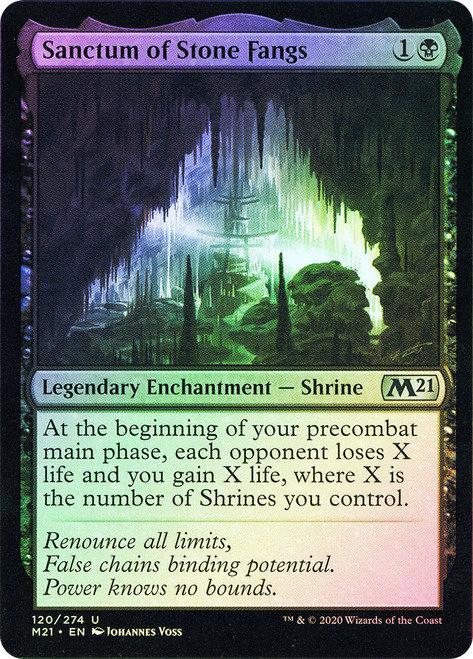 Sanctum of Stone Fangs (M21) / Foil