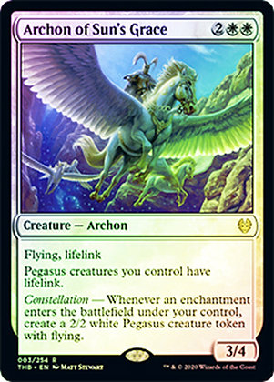Archon of Sun's Grace / Foil