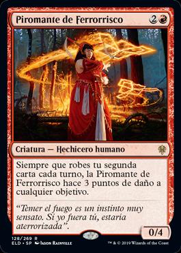 Irencrag Pyromancer / Español